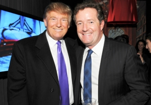 Piers Morgan Is Throwing His Hat Into The Ring For Trump's Chief Of Staff Position