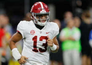 Tua Tagovailoa Was Replaced By Jalen Hurts After Getting Injured In The SEC Title Game