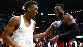 Donovan Mitchell Gave Dwyane Wade A Rocking Chair As A Retirement Gift