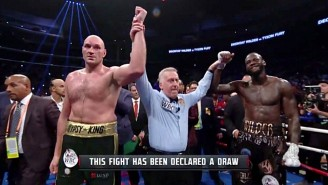 LeBron James And Other NBA Stars Went Crazy Over The Wilder-Fury Finish
