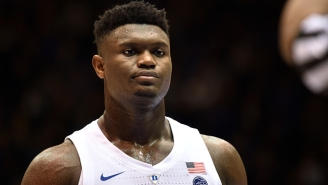 CBS Will Debut Its 'Zion Cam' For The NCAA Tournament Dedicated Solely To The Duke Star