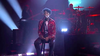 Watch 21 Savage Make His Moody, Mellow Late-Night Debut With 'A Lot' From 'I Am > I Was'