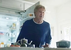 Harrison Ford Chases Around An Alexa-Addicted Dog In Amazon's Super Bowl Commercial