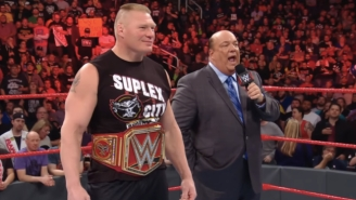 Brock Lesnar's Contract Negotiations Reportedly Include WWE, UFC, And All Elite Wrestling