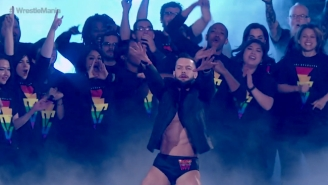 Finn Bálor Says WWE Almost Vetoed His LGBTQ WrestleMania Entrance