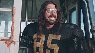 Foo Fighters Teased Their Pre-Super Bowl Concert With A Hilarious Football Skit