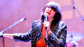 Karen O Delivers A Moody Cover Of The Smashing Pumpkins' Iconic Song, 'Bullet With Butterfly Wings'
