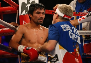 Freddie Roach And Buboy Fernandez Will Split Cornering Manny Pacquiao Against Adrien Broner