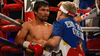 Freddie Roach And Buboy Fernandez Will Split Cornering Manny Pacquiao Against Adrien Broner