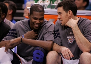 Kevin Durant Will Attend Nick Collison's Jersey Retirement Ceremony In Oklahoma City