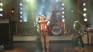 Watch Greta Van Fleet's Fiery Performance Of 'Black Smoke Rising' On 'SNL'