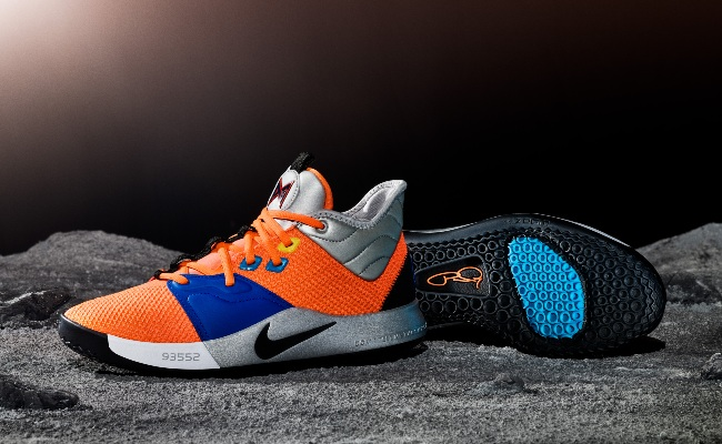 961dae052ea Paul George Will Debut The NASA-Inspired PG3s Against The Spurs