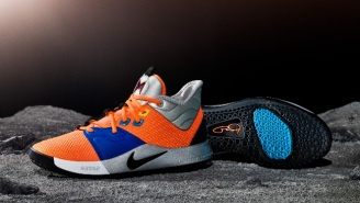 Paul George Will Debut The NASA-Inspired PG3s During The Thunder's Game Against The Spurs
