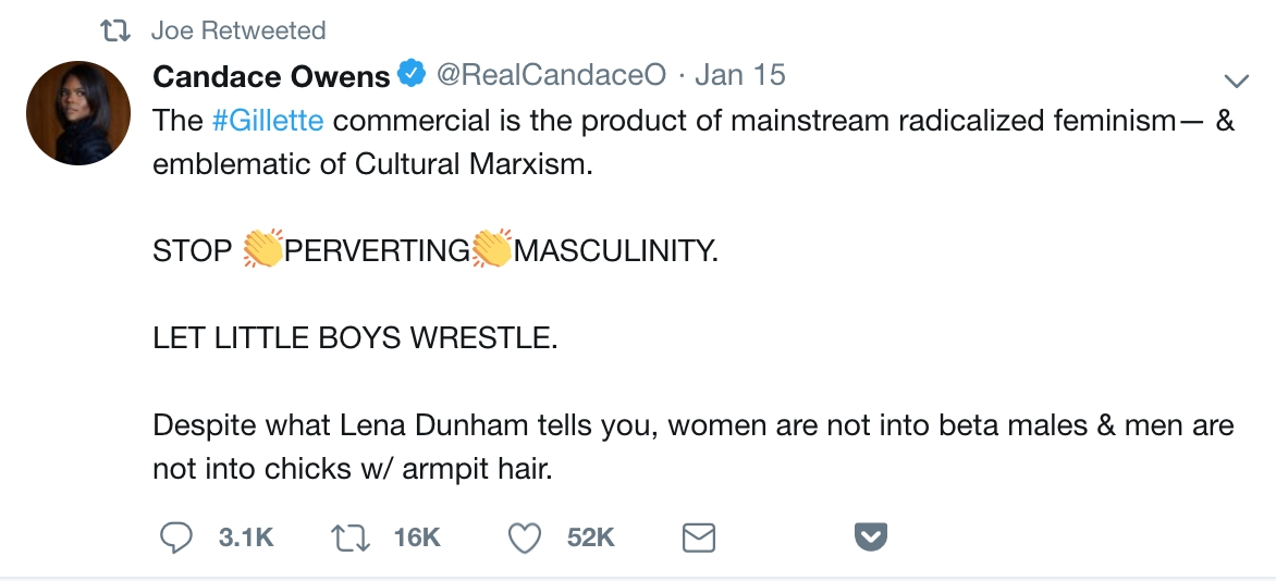 Anyone Offended By A Razor Ad Is The Definition Of 'Male