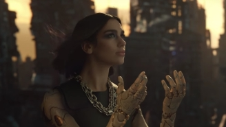 Dua Lipa Makes A Very Believable Cyborg Queen In The Powerful 'Swan Song' Video