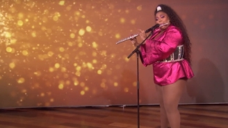 Lizzo's Single 'Juice' Makes Its Television Debut With A Terrific Live Performance