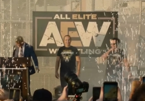 WWE Made A Fan Change His AEW Shirt Before The Royal Rumble