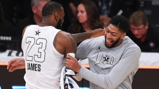 LeBron James Says He Doesn't 'Play Fantasy Basketball' When Asked About Anthony Davis Trade Rumors