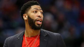 Anthony Davis Is Still Afraid Of The Dark From Watching 'Too Many Crazy Movies' As A Kid