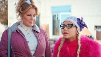 Ariana Grande And Jennifer Coolidge Recreate An Iconic Scene In The 'Thank U, Next' Outtakes Video