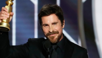 Christian Bale Thanked Satan For Giving Him The Inspiration To Portray Dick Cheney At The Golden Globes