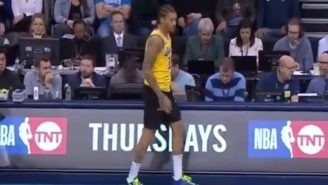 Michael Beasley Tried To Check In Against The Thunder While Wearing The Wrong Shorts