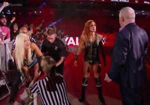 Becky Lynch Is Your 2019 Women's Royal Rumble Winner