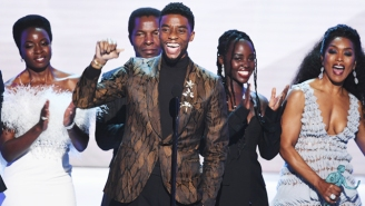 Chadwick Boseman Honors Being 'Young, Gifted, And Black' As 'Black Panther' Wins Best Film Ensemble At The SAGs