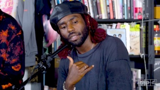 Blood Orange's Tiny Desk Performance Is A Soulful Group Effort