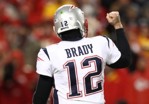 Tom Brady Sent The Patriots To The Super Bowl With A Touchdown March In Overtime