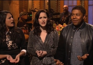 Rachel Brosnahan's 'SNL' Monologue Song Focused On The Worst Parts Of 2019