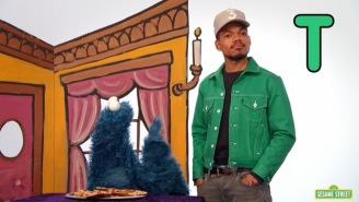 Watch Chance The Rapper Put On A Play With Cookie Monster And Elmo On 'Sesame Street'