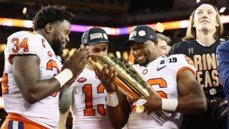 Clemson's Stars Made A Suge Knight-Inspired Recruiting Pitch After Beating Alabama