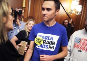 Parkland Survivor David Hogg Reminds Trump That More People Die From Gun Violence Than From Crimes By Illegal Immigrants