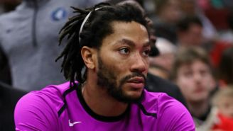 Derrick Rose's Season Is Over Due To Bone Chips In His Elbow
