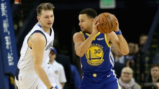 Video Of A Steph Curry And Luka Doncic Workout Shows The Rookie Honing His Killer Stepback
