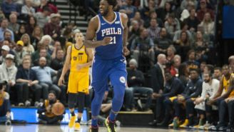 Jeff Garlin Crashed Joel Embiid's Postgame Presser After The Sixers Beat The Clippers