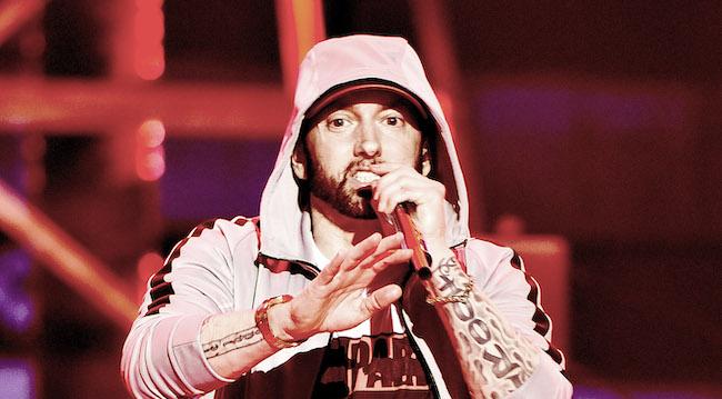 When Eminem Met Chris D'Elia, He Did Chris' Impression Of Himself