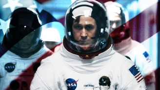 We Counted Every American Flag In 'First Man' And It's Crazy How Many Are In It