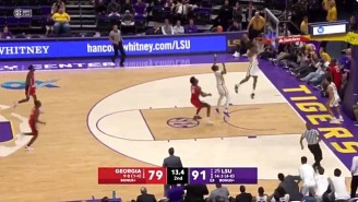 LSU Failed To Cover Thanks To A Botched Off-The-Backboard Alley-Oop In The Final Seconds