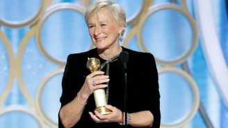 Glenn Close Was As Surprised As Lady Gaga's Fans That She Won The Globe For Best Actress In A Drama Film