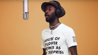 Goldlink Calls Out Alleged Abuser Sheck Wes With 'Justine's Interlude,' A Loving Ode To Justine Skye