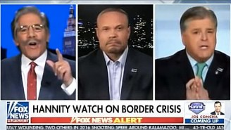 Watch Sean Hannity And Geraldo Rivera Engage In An Angry Shouting Match Over Illegal Immigration