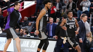 Buddy Hield Drilled A Three At The Buzzer To Beat The Pistons