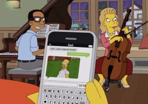 'The Simpsons' Got Super Meta By Having Homer Use The 'Homer Backs Into The Bushes' GIF