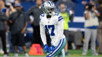 Cowboys Receiver Allen Hurns Left Their Playoff Game Following A Gruesome Ankle Injury