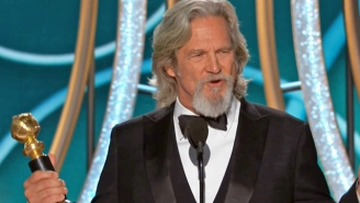 Jeff Bridges' Golden Globes Speech Was A Rambling Masterpiece That Even Included A Shoutout For His Stand-in On 70+ Films