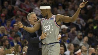 Brett Brown Says Nothing 'Crossed The Line' In His Meeting With Jimmy Butler