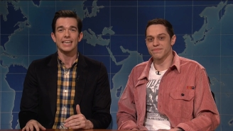 Pete Davidson And John Mulaney Geeked Out About Clint Eastwood's 'The Mule' On 'SNL' Weekend Update