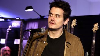 John Mayer Threw A Fake 'Vanity Fair' Oscars Party In His House And It Looked Hilariously Convincing